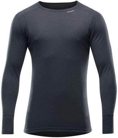 Devold moška hiking majica Hiking Man Shirt Black, L, črna