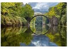 Dimex Fototapeta MS-5-0060 Oblúkový most 375 x 250 cm