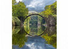 Dimex Fototapeta MS-3-0060 Oblúkový most 225 x 250 cm