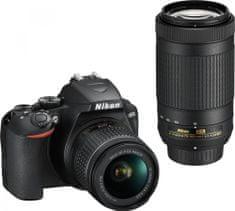 Nikon D3500 + 18-55 AF-P DX + 70-300 AF-P DX ED (VBA550K006)