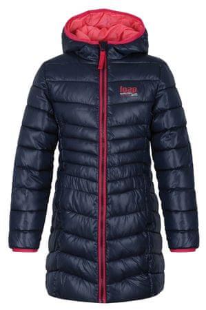 Loap Dievčenský zimný kabát Ikima 122/128 modrá
