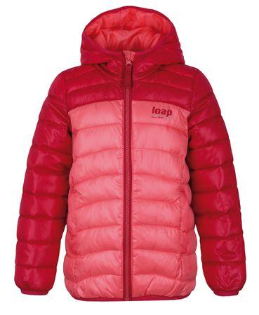 Loap otroška zimska bunda Imego, 158/164, oranžna