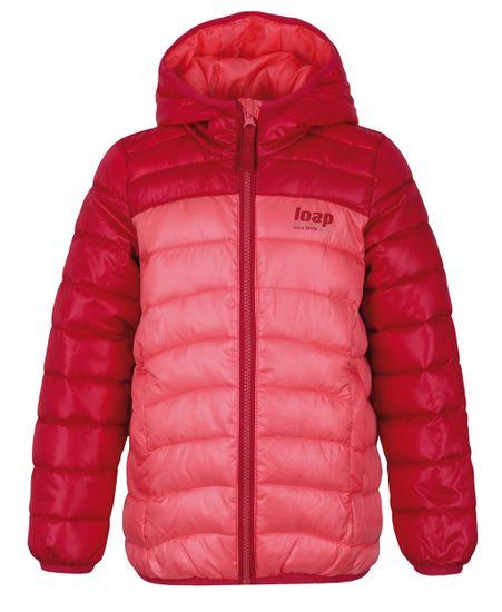 Loap dětská zimní bunda Imego 112/116 oranžová