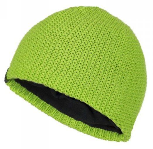Loap chlapecká zimní čepice Zafo 46 - 48 zelená