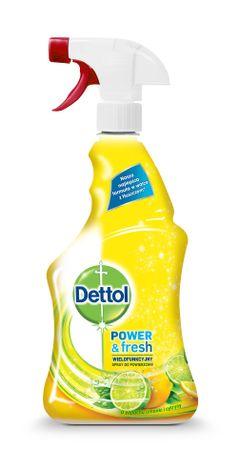 Dettol antibakterijsko čistilo v spreju z citrusov, 500 ml