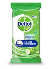 Dettol Antibakteriální ubrousky na povrchy Zelené jablko 32 ks