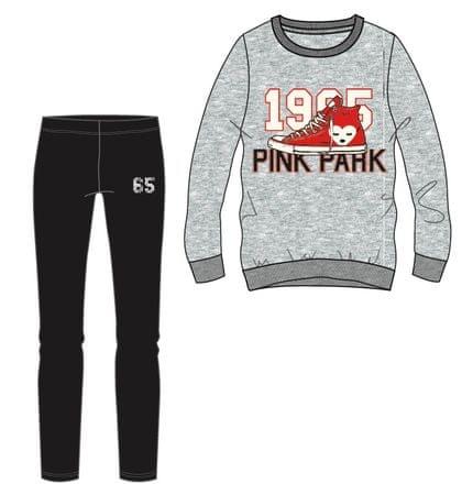 Mix 'n Match komplet dekliške majice in pajkic, 98, siv