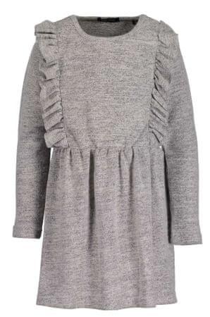 Blue Seven dekliška obleka, siva, 98