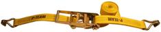 P TEAM d.o.o. povezovalni trak s kavljem, 12 m, 75 mm, 10000 daN