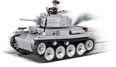 Cobi tank Small Army II WW LT VZ. 38 PZKPFW 38 T