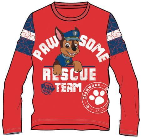 b192394bf03b Disney by Arnetta Chlapčenské tričko Paw Patrol 92 červená