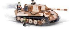 Cobi model ciężkiego niszczyciela czołgów Jagdpanzer VI Jagdtiger, SMALL ARMY II WW
