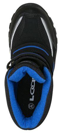 d00c3cfdfe2e3 Loap chlapčenské zimné topánky Sillo 35 čierna/modrá   MALL.SK