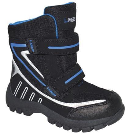 57efe18bf6fb6 Loap chlapčenské zimné topánky Sillo 32 čierna/modrá   MALL.SK