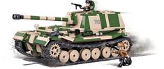 Cobi model ciężkiego działa przeciwpancernego Panzerjager Tiger SdKfz 184 Ferdinand, SMALL ARMY II WW