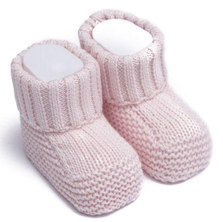 Kitikate Dievčenské capačky/ponožky pletené 50 - 56 ružová