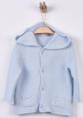 Kitikate Chlapčenský pletený svetrík s kapucňou