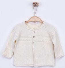 Kitikate Detský pletený svetrík vzorovaný