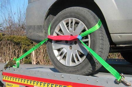 P TEAM d.o.o. povezovalni trak za avtomobile, 3 m, 35 mm, 2000 daN