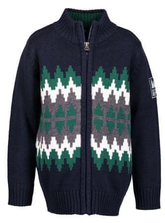 Blue Seven fantovski pulover, 92, moder
