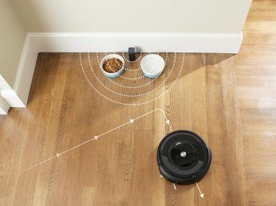robotický Vysavač iRobot Roomba E5 Navigace iAdapt precizní vyčištění podlahy