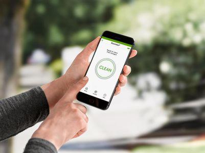 Vysavač iRobot Roomba E5 ovládání aplikace iRobot HOME pro telefony