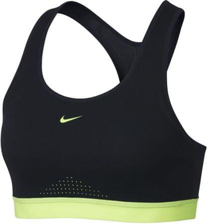 Nike W Motion Adapt Sports Bra/Black/Black/Volt Glow/Volt Glow S