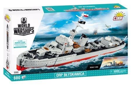 Cobi World of Warships ORP Blyskawica