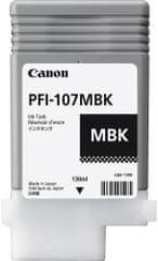 Canon PFI-107MBK, pigmentová černá (6704B001)