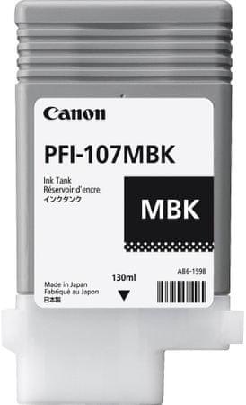 Canon tusz do drukarki PFI-107MBK, pigment czarny (6704B001)