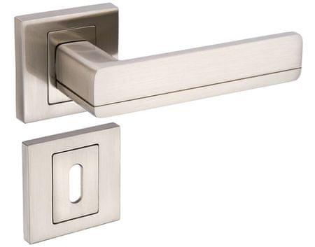 Infinity Line Platon 300 satina - klika ke dveřím - pro pokojový klíč
