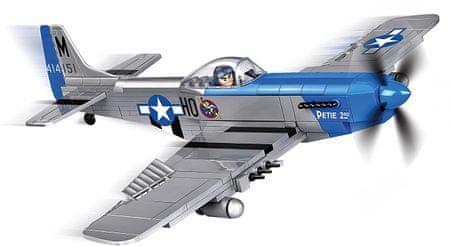 Cobi letalo SMALL ARMY II WW P-51D Mustang