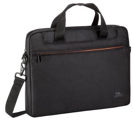 RivaCase torba 8023 za prenosnike in tablice do 33.7 cm, črna