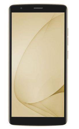 iGET Blackview GSM telefon A20, zlat + Darilo: etui