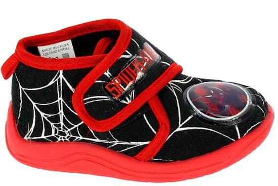 Disney by Arnetta chlapecké bačkůrky Spiderman 23 černá/červená