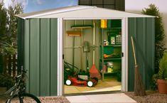 ShelterLogic domek ogrodowy ARROW DRESDEN 1012 zielony