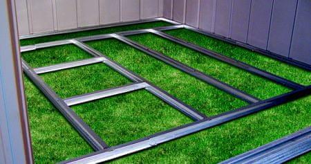 ShelterLogic Podstawa podłogowa dla domku ARROW 108 / 1010
