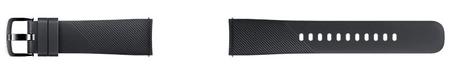 Samsung silikonski pašček gear sport R600, črn