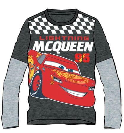 a8f0281ba042 Disney by Arnetta chlapčenské tričko Cars 98 sivá