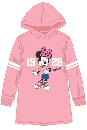 Disney by Arnetta dekliška obleka Minnie, 122, roza