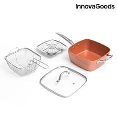 Ceramic Blade Univerzální set s pánví 5v1 Copper InnovaGoods (4ks)