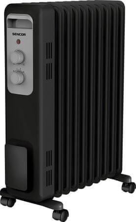 SENCOR SOH 3309BK oljni radiator