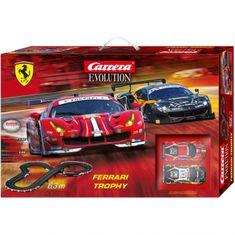 CARRERA Tor wyścigowy EVO 25230 Ferrari Trophy