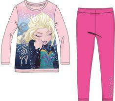 Disney by Arnetta dievčenský set mikiny a legín Frozen