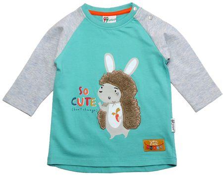 Gelati chlapecké tričko s ježkem 62 modrá