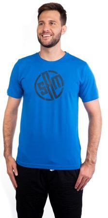 SAM73 moška majica s kratkim rokavom MTSM337652SM, S, modra
