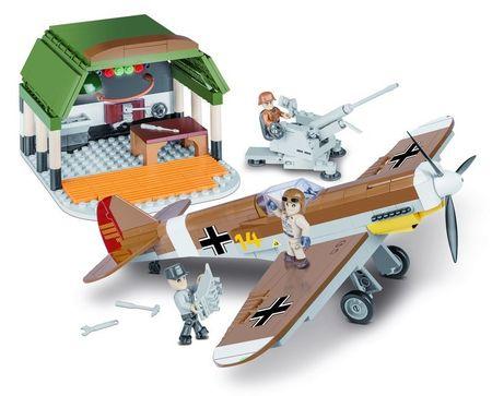 Cobi SMALL ARMY II WW Messerschmitt BF 109 Afrička misija