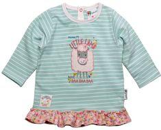 Gelati Dívčí tričko s volánky a ovečkou