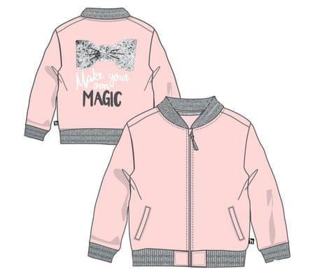 Mix 'n Match dívčí mikina 116 růžová