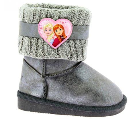 Disney by Arnetta dekliški škornji Frozen, 26, sivi